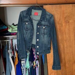Gently worn jean jacket